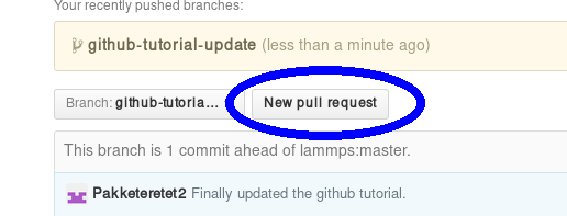 8 1 1  LAMMPS GitHub tutorial — LAMMPS documentation